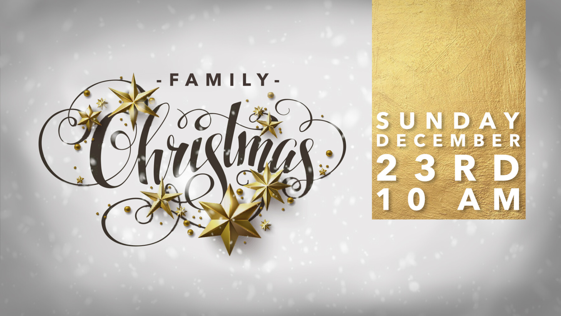 Special Christmas Family Service